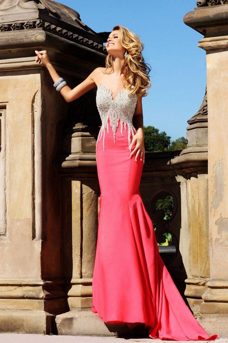 Moderne Meerjungfrau-Linie Abendkleid Lang | Kleider | Pinterest ...