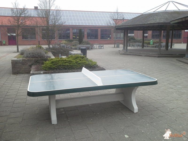 Pingpongtafel Afgerond Groen bij Provil in Lommel