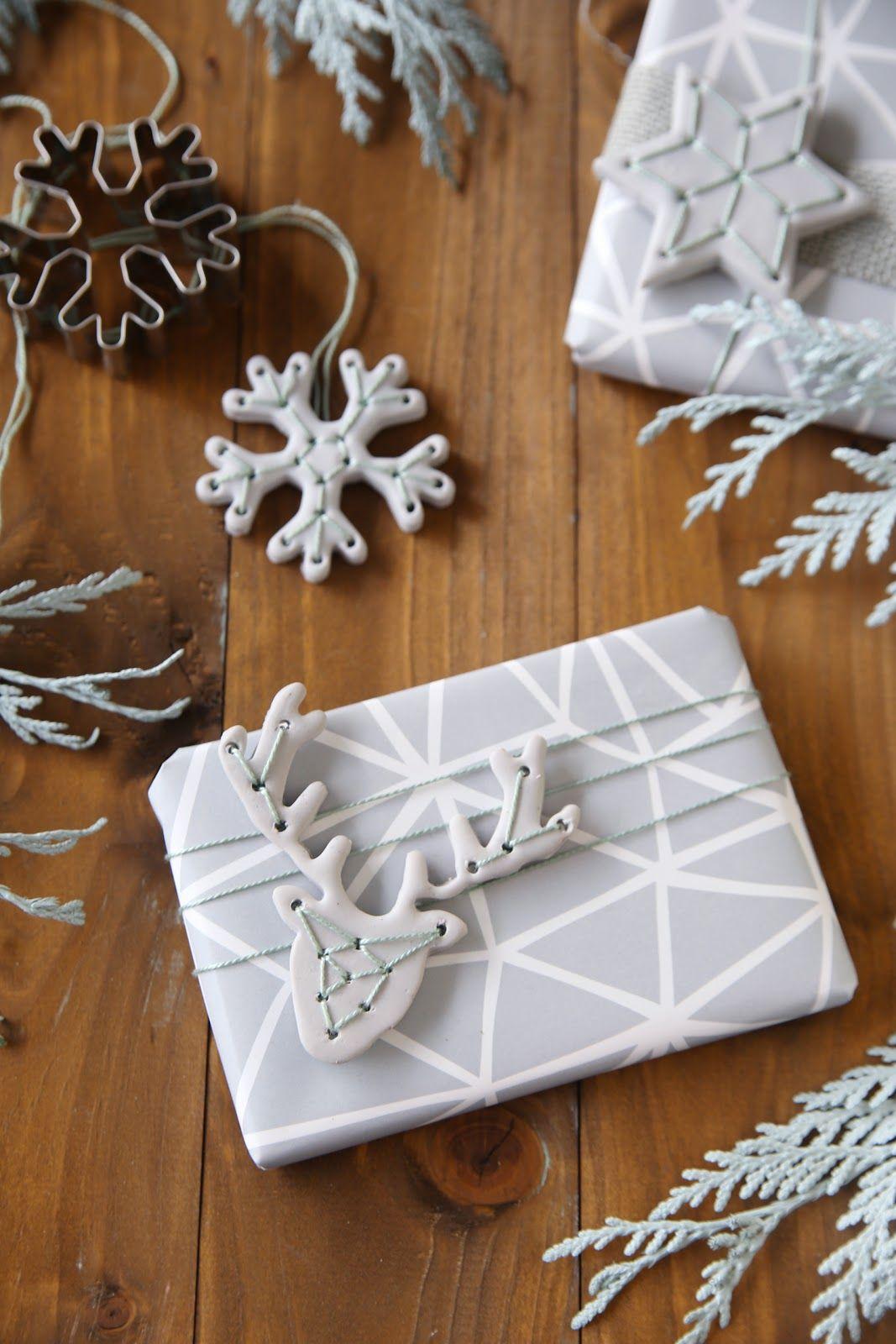 Diy weihnachtliche geschenk anh nger aus fimo giveaway for Geschenke aus salzteig