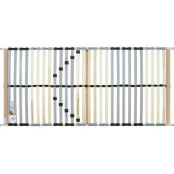 Photo of Dreamer eXpress slatted frame Dreamer Two ¦ wood-colored ¦ birch ¦ Dimensions (cm): W: 140 H: 7.5 D: 190