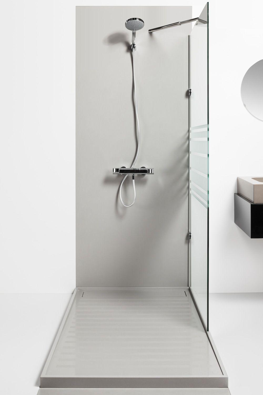 Silestone shower: Plato ducha Kador (con aplacado) | Bathroom Ideas ...