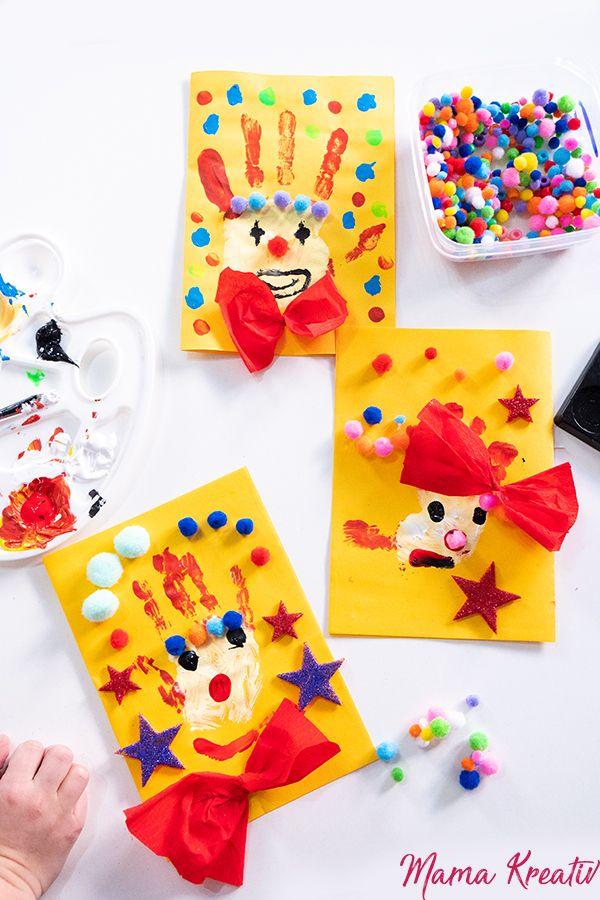 Fasching: basteln und spielen mit Kindern - 7 geniale Ideen