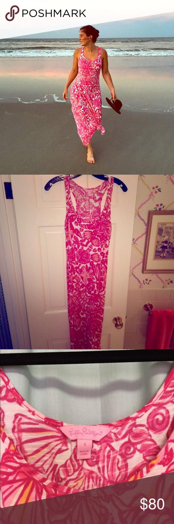Lilly Pulitzer Maxi Dress - Small