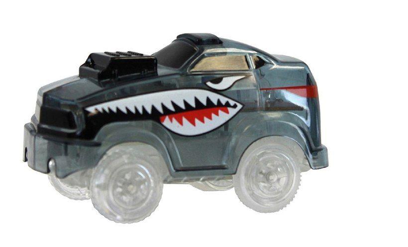 Magic Tracks Light Up Race Growler Car Black Toy Car Kids Store Car