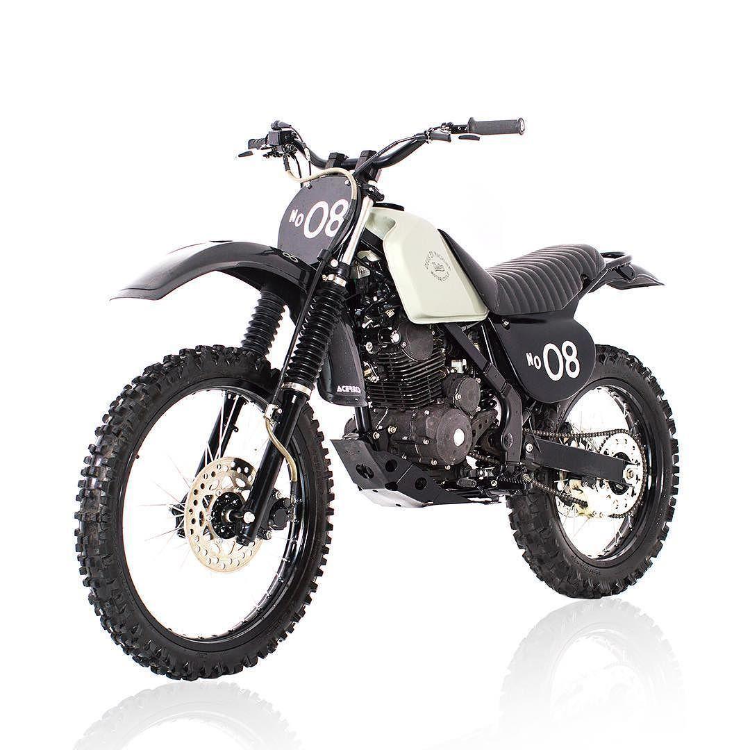 Dirt bikes aren't always gaudy, plastic creations in