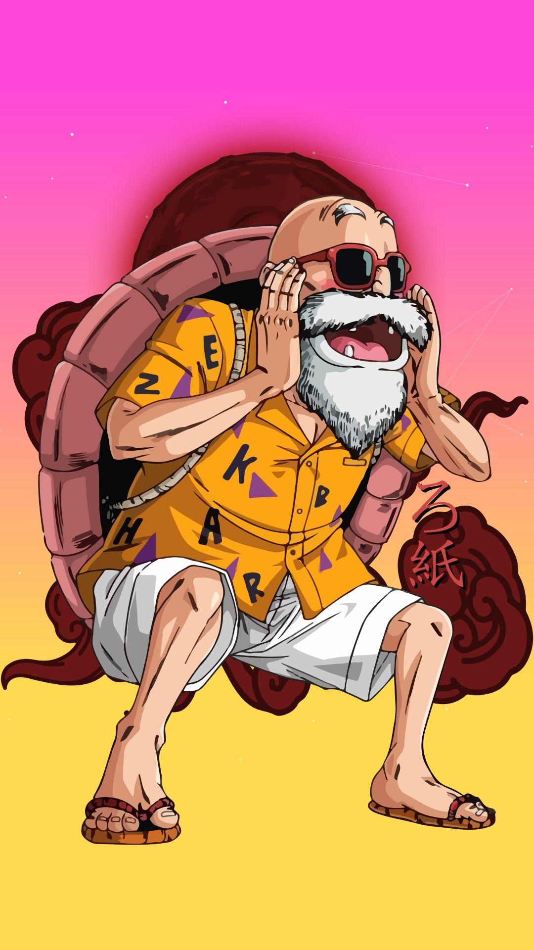 Master Roshi Dragon Ball In 2021 Anime Anime Guys Manga Drawing