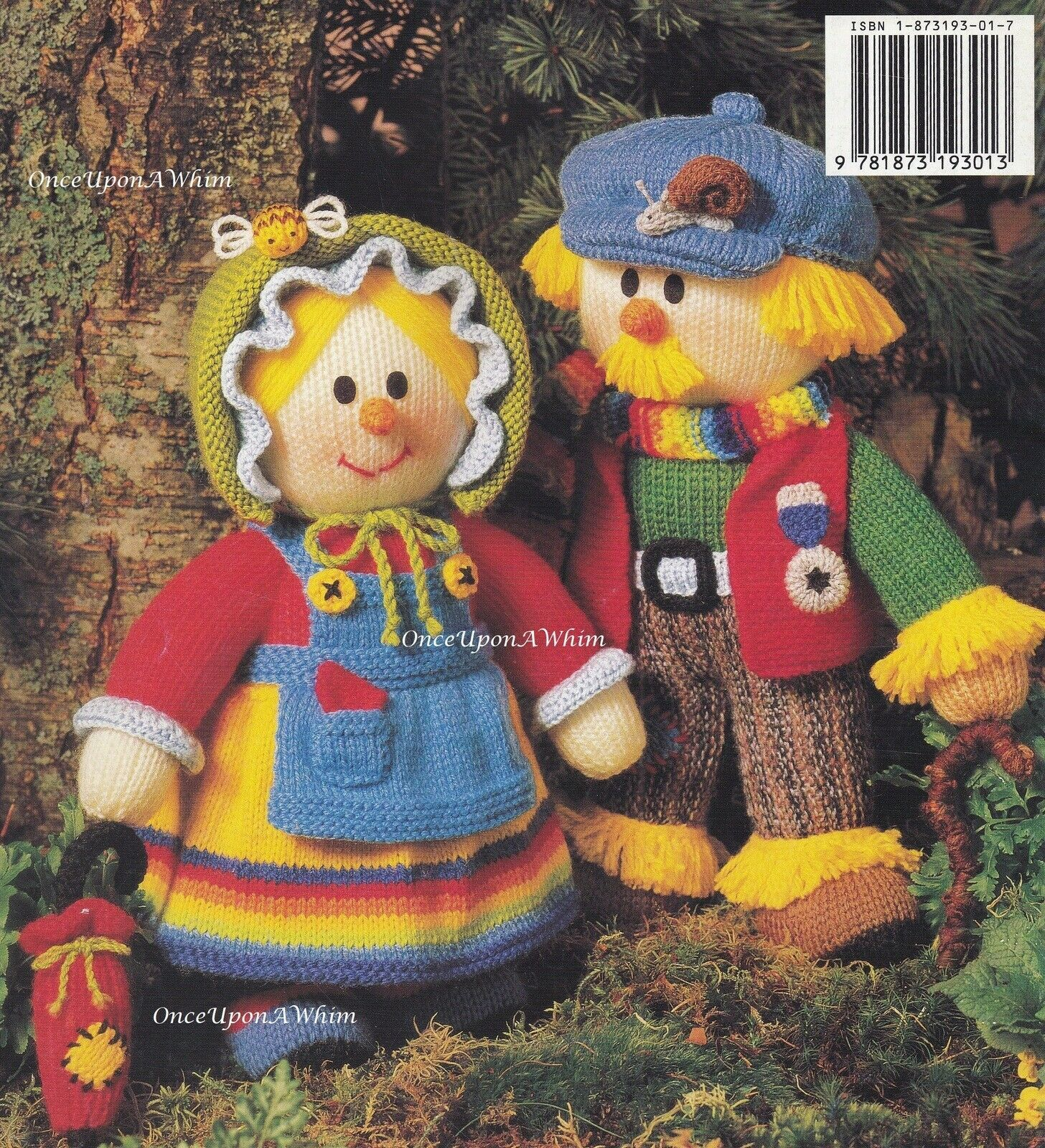 Dolly Mixtures Knitting Book Jean Greenhowe Colourful Sweet Knitted Doll Pattern