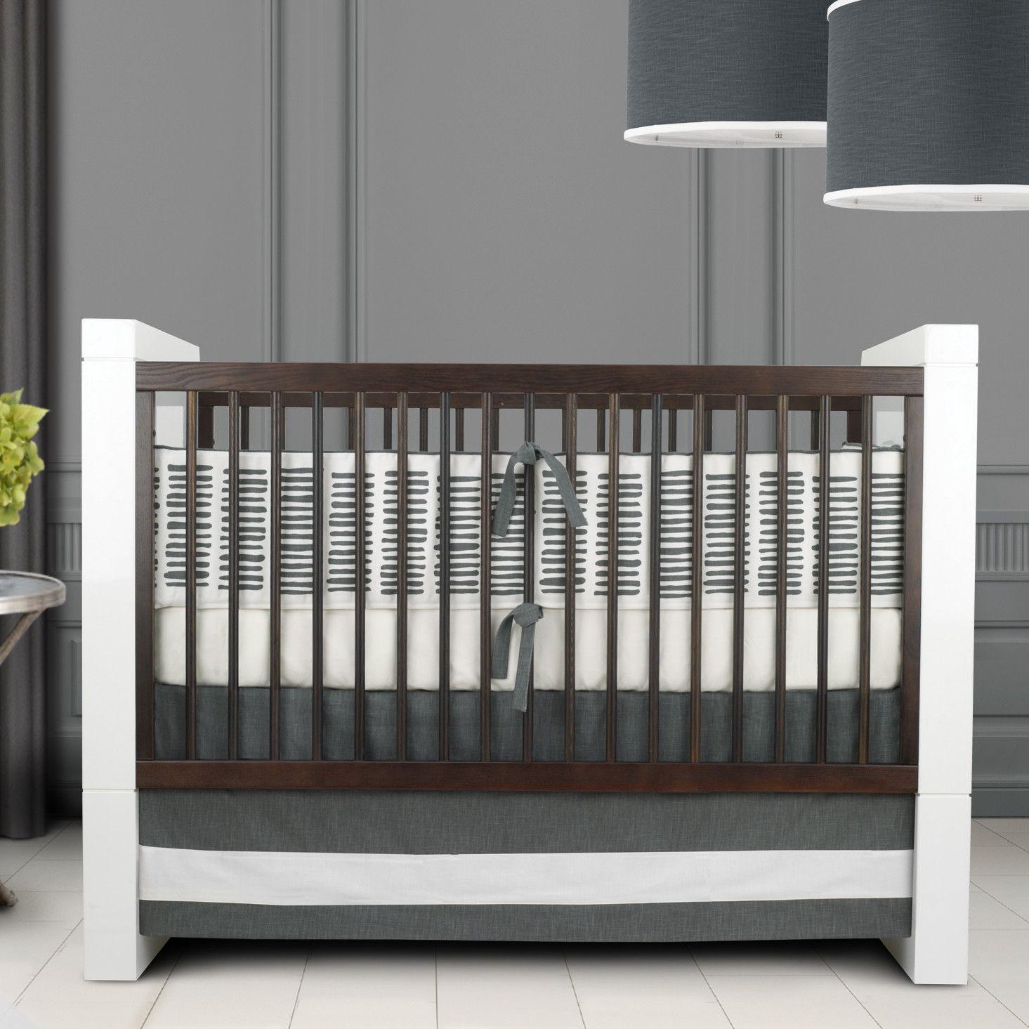 oilo sticks piece crib bedding set  allmodern  nursery ideas  - oilo sticks piece crib bedding set  allmodern