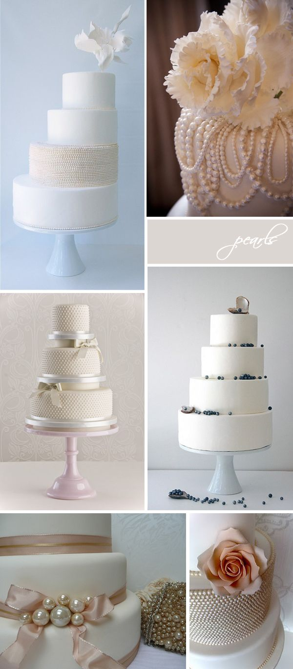 wedding cakes | Wedding cake pearls, Wedding cake and Pearls
