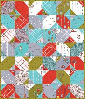 Not only is this Little Apples layer cake quilt fabulous, the ... : layer cake quilt patterns free - Adamdwight.com