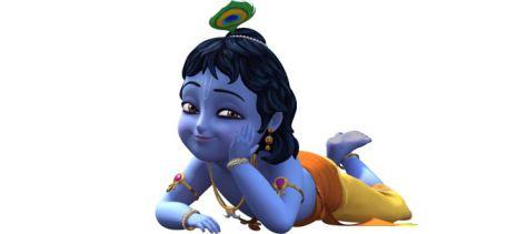 Lord Krishna Cartoon 3d Images Krishna Little Krishna Krishna