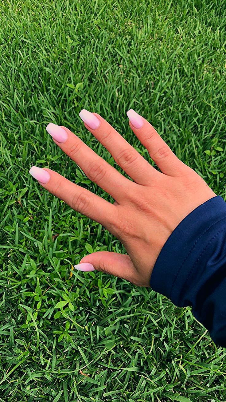 Photo of Ombré nails, short nails, coffin nails –  #coffin #nails #ombre #short