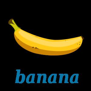 banana template