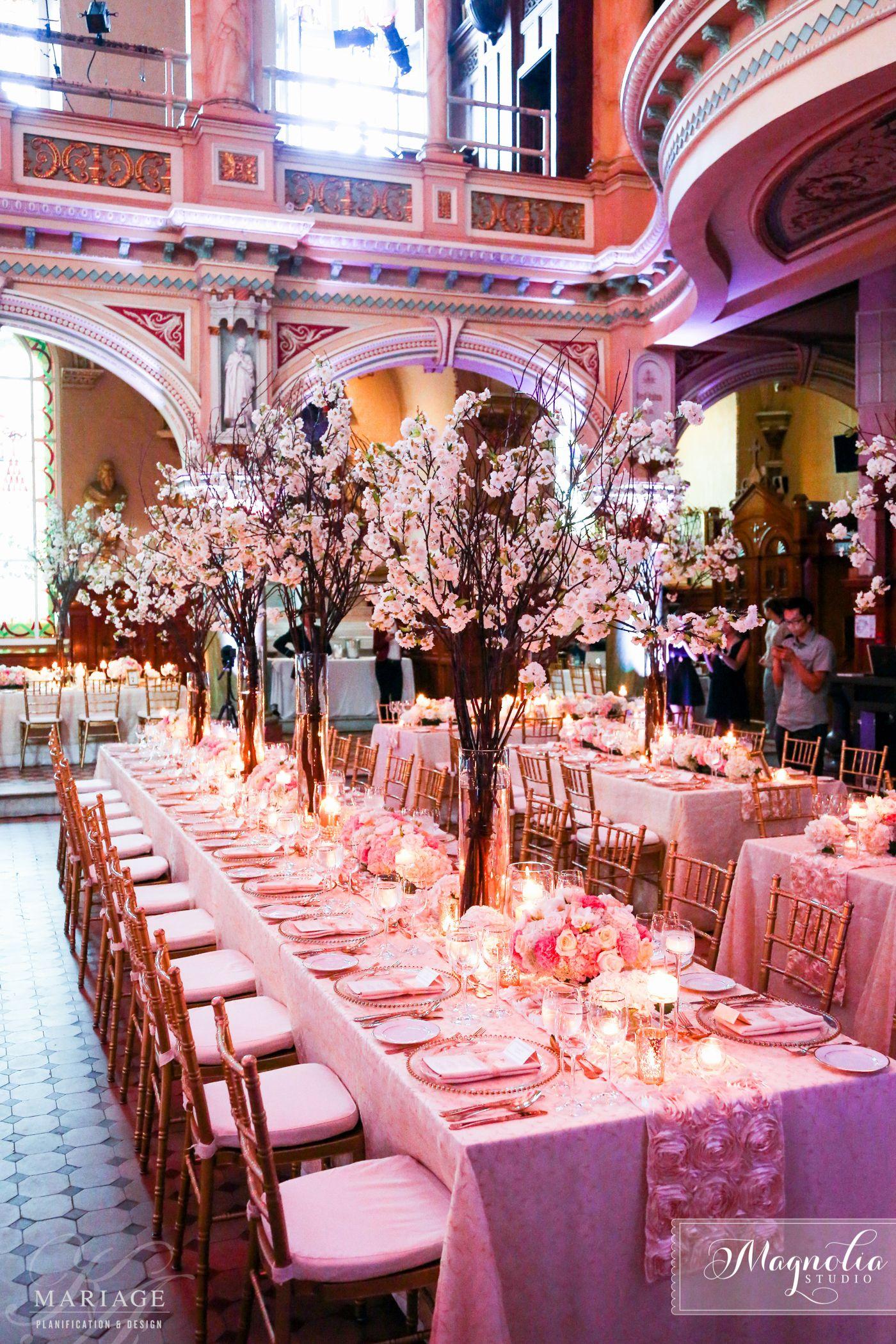 Spring wedding Blush wedding Cherry blossom Wedding Venue ...