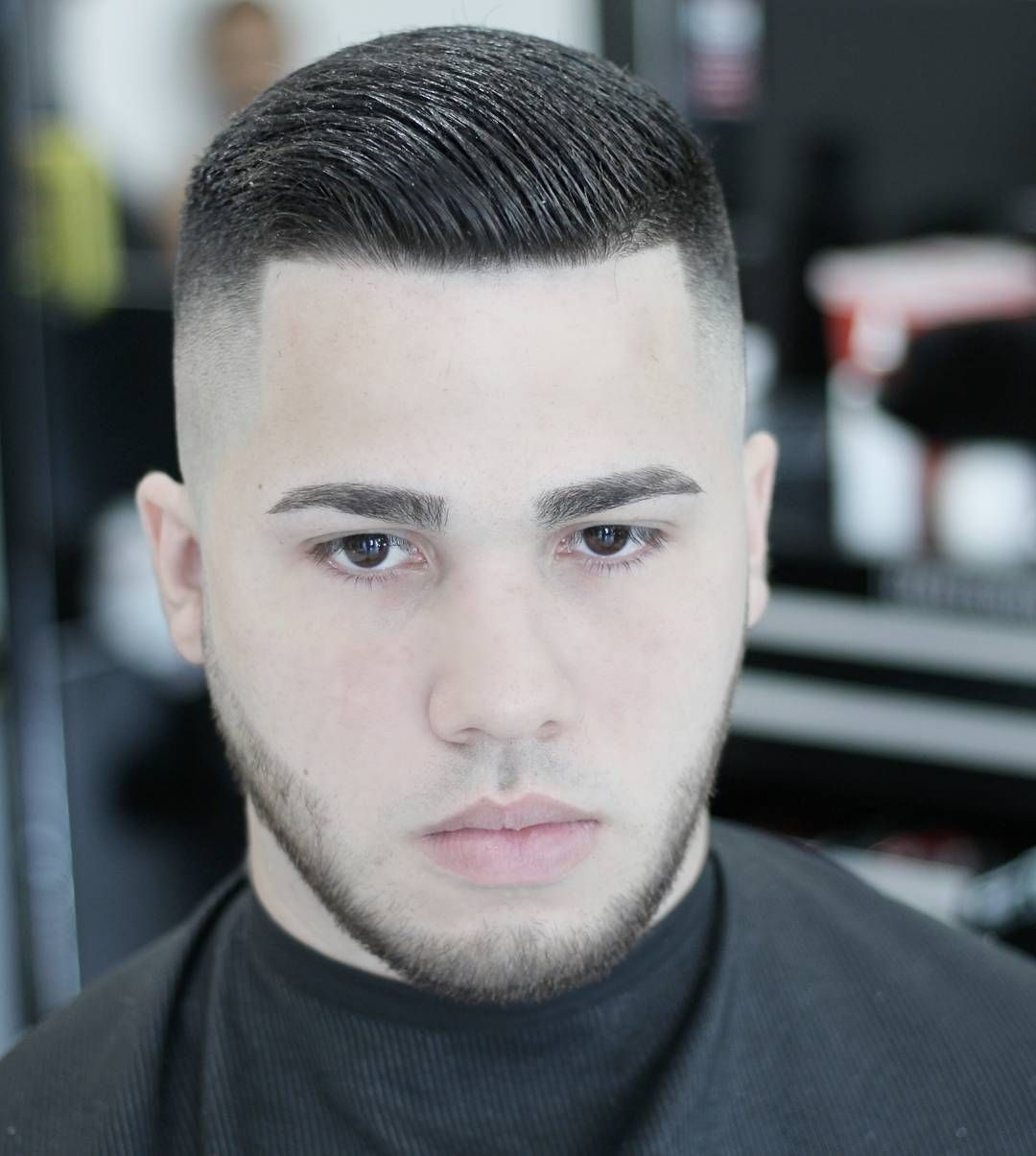 Haircut for men with round face double parted haircuts for round face  corte de cabello  pinterest