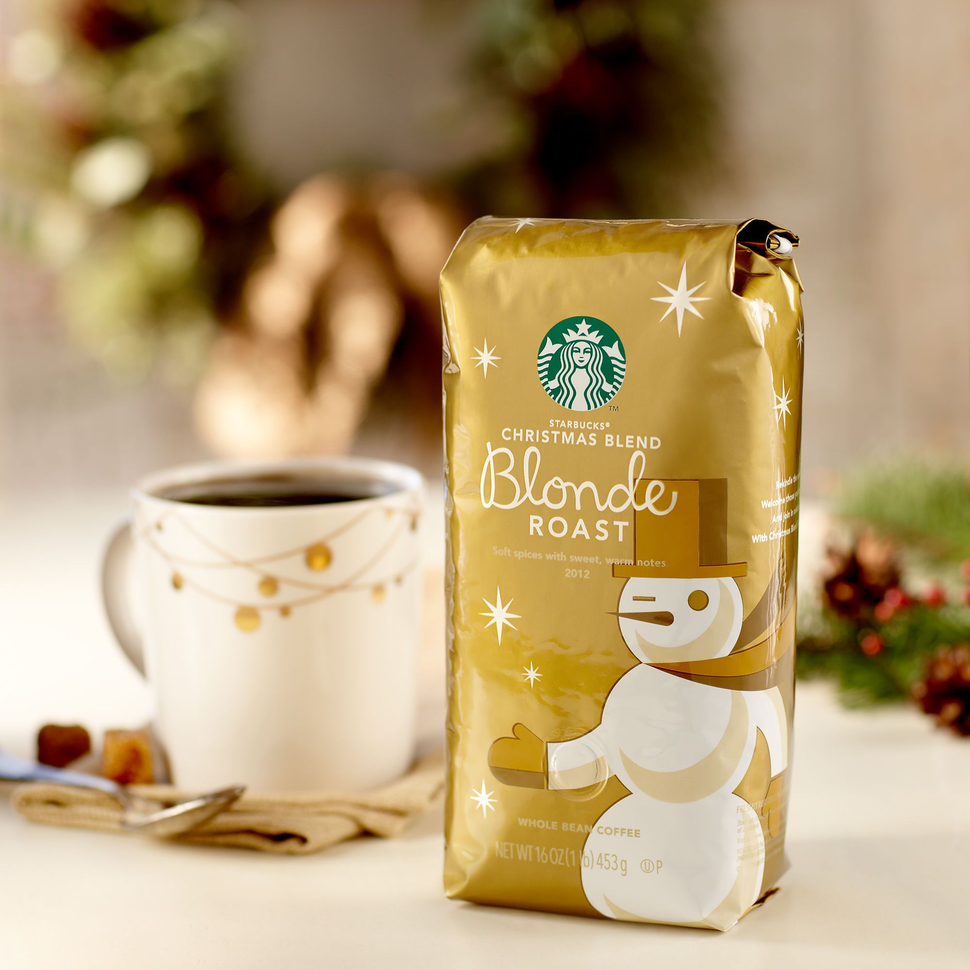Starbucks® Christmas Blend Blonde Roast Starbucks