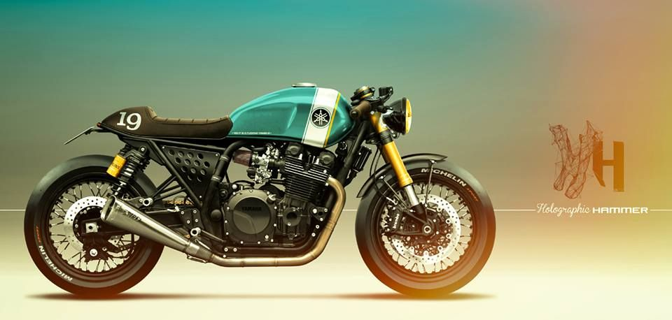 Yamaha XJR 1300 by Holographic Hammer