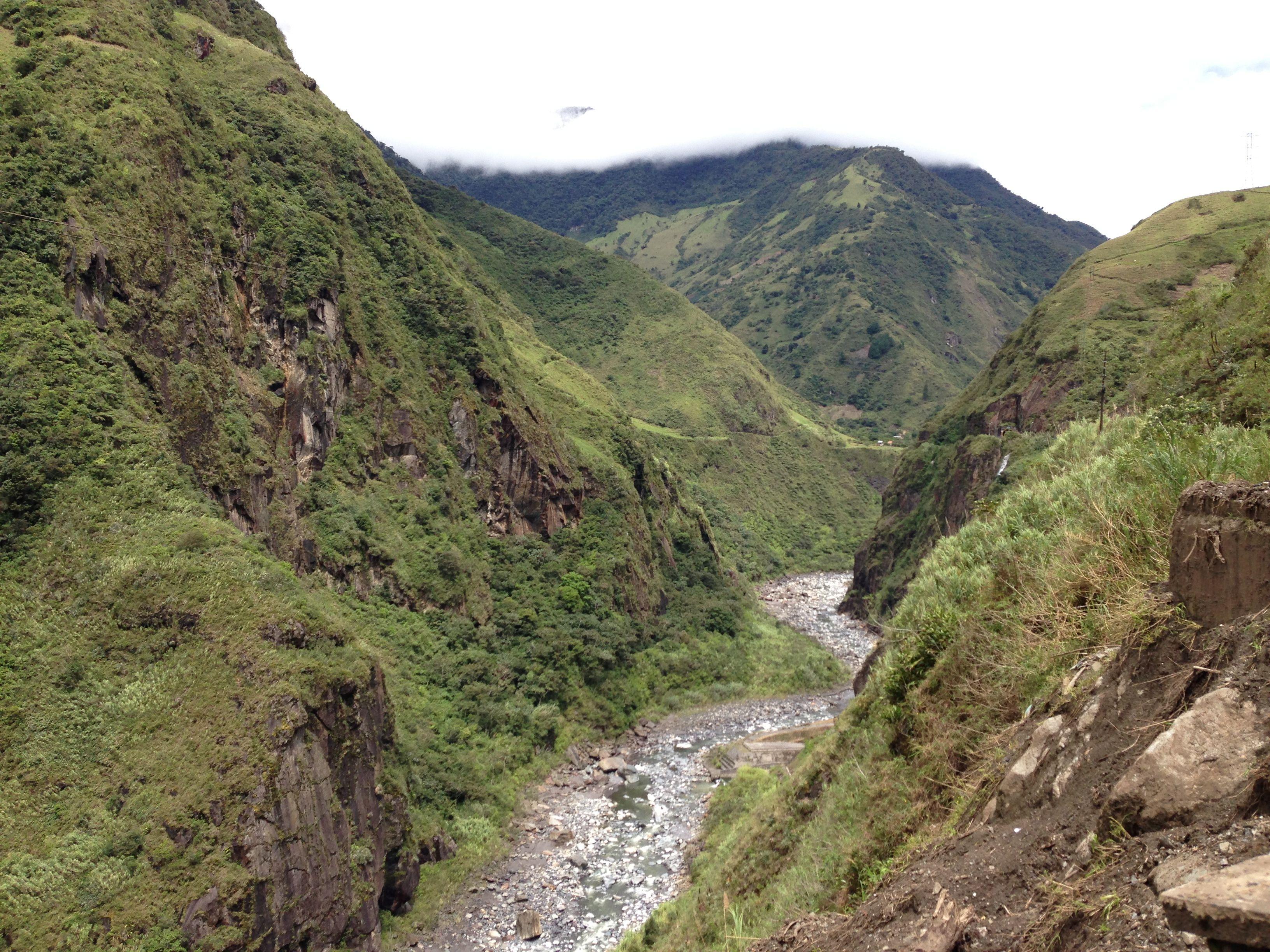 Por la ruta de las cascadas Ba os de Agua Santa Tungurahua