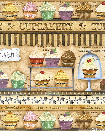 Cupcakery - Shop Window Treats - Chai Latte