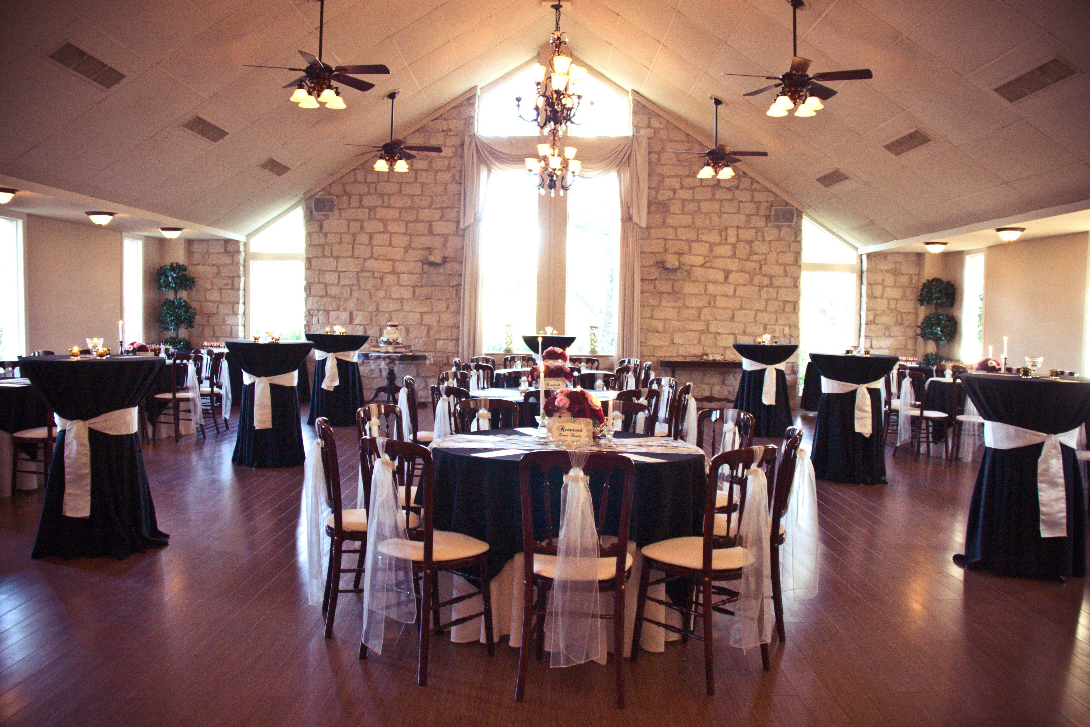 The Reception Hall At Arbor Pointe Event Centre Located In Historic Round Rock Texas