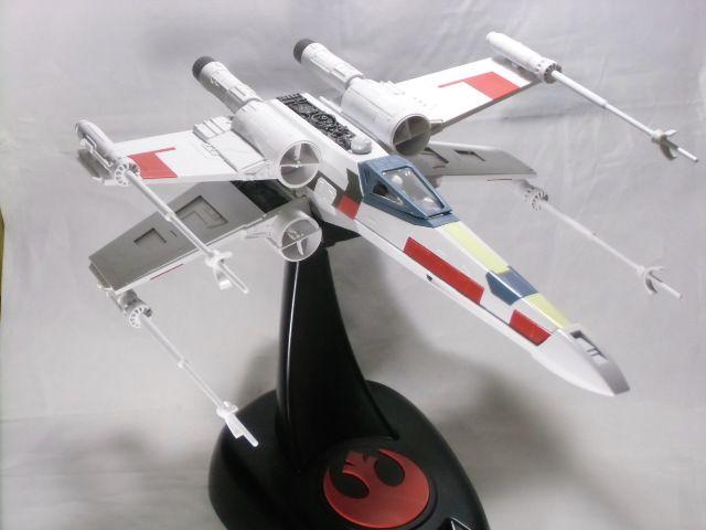 Bandai x Star Wars 1/48 X,Wing Starfighter MOVING EDITION ,assembled,.  スターウォーズスターファイター