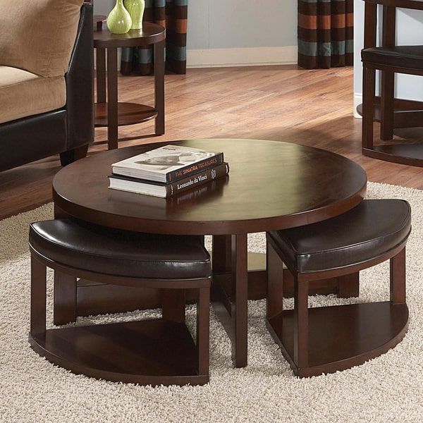 Baxter Tail Table And Slide Out Ottoman Set By Tribecca