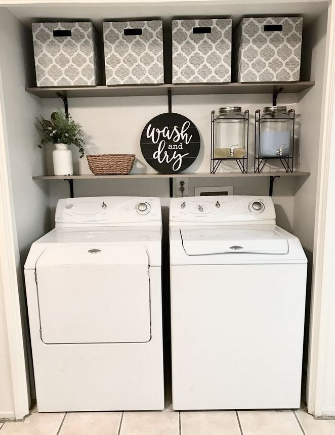 40 creative basement laundry room ideas for your home 18