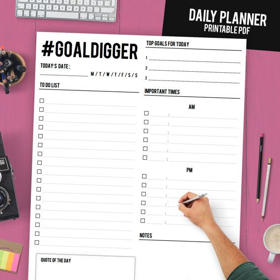KickAss Printable Planners That Will Boost Your Productivity