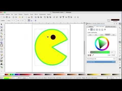Como Hacer Dibujos En La Computadora Con Inkscape Parte 4 Como Hacer Dibujos Como Hacer Dibujos Faciles De Hacer
