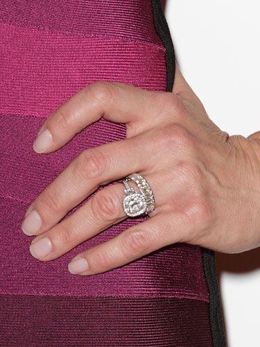 Brookeshields Engagementring Celebrity Wedding Celebrity