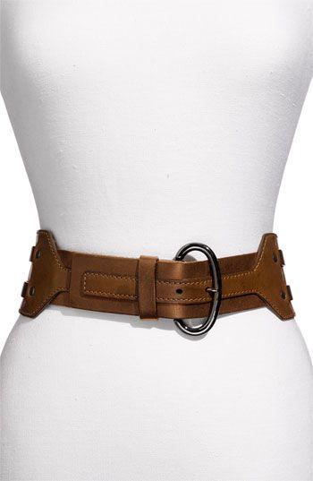 ece54c4d3f2e Linea Pelle Leather Belt