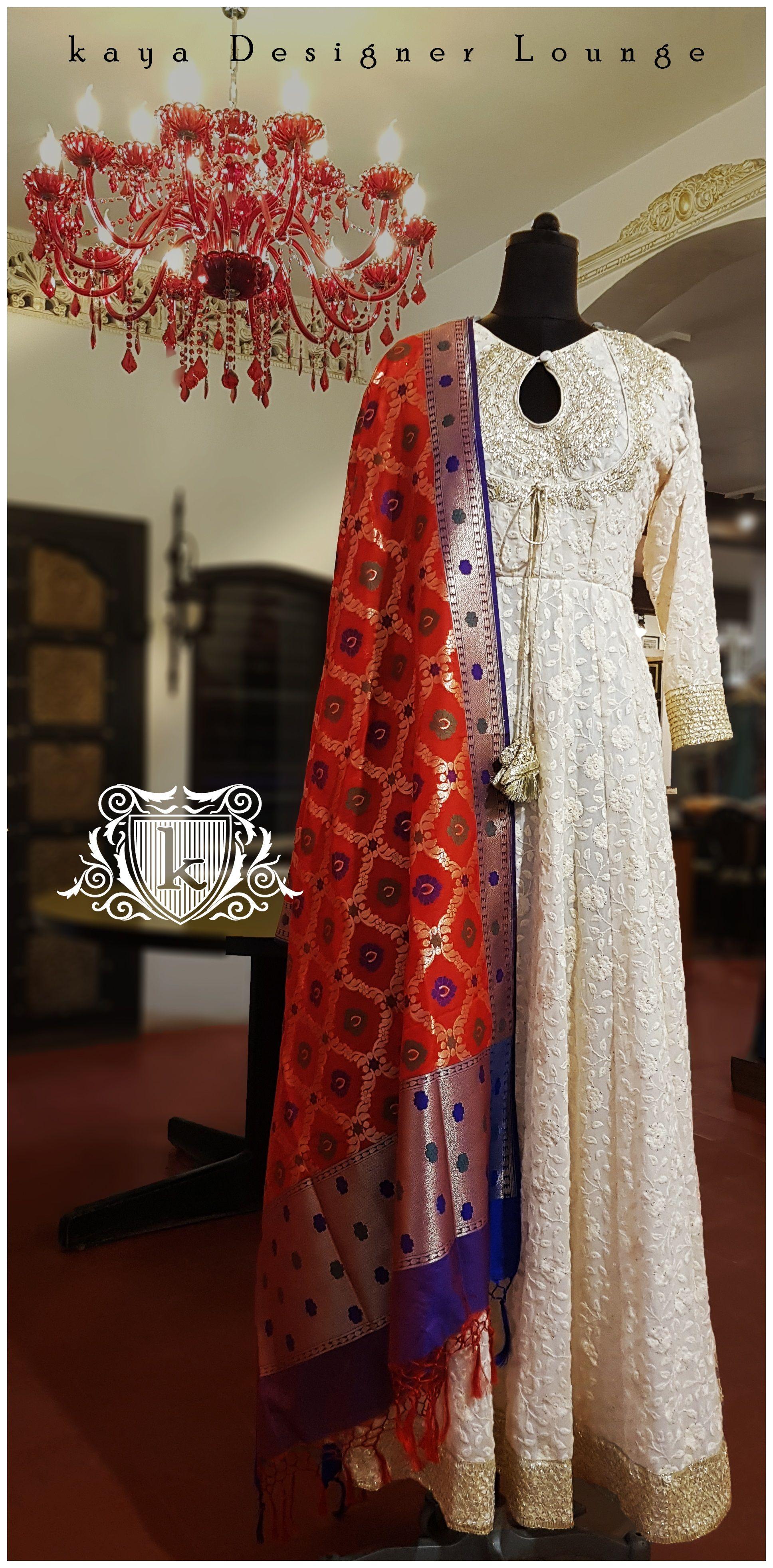 fb22f8a3c8 Ethnic Wear Traditional Wear Dupatta Anarkali Suit Kurti Lucknow Chikan  Chikankari Embroidery Chikankari Chikanart Handembroidery Chikankari