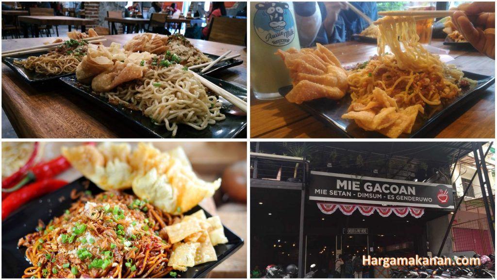 Harga Menu Mie Gacoan Malang Makanan pedas, Makanan, Lumpia