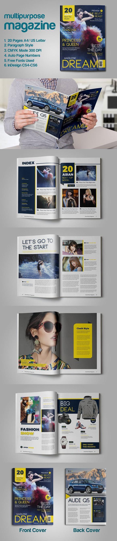 Multipurpose Magazine. Magazine Templates | Magazine Templates ...