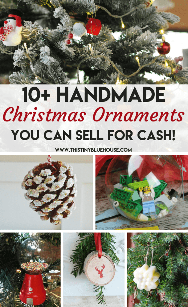 Popular 19 Diy Christmas Decorations To Make And Sell In 2020 Diy Christmas Ornaments Diy Christmas Ornaments Easy Christmas Ornaments To Make