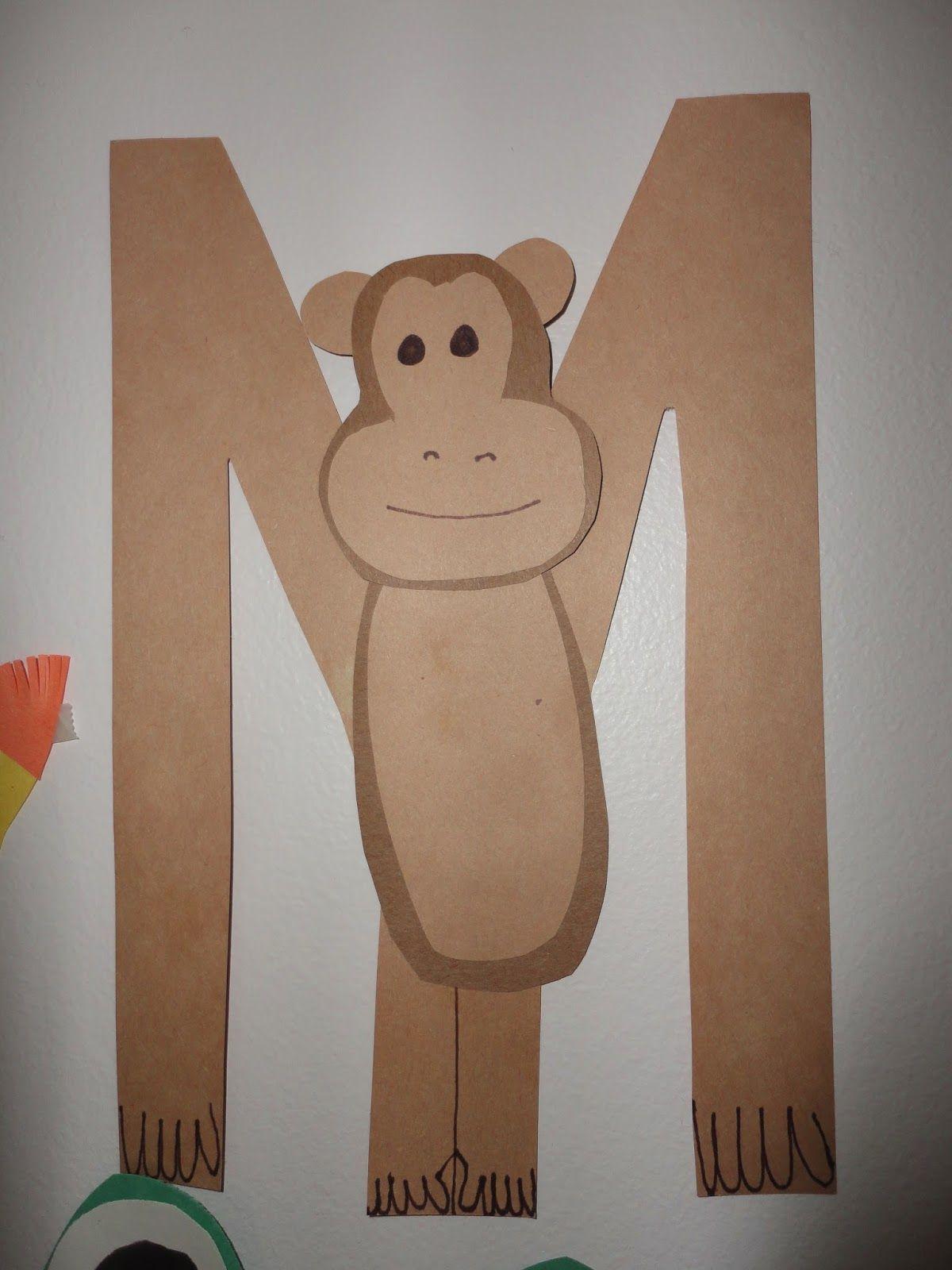 Pinkaton Family M Is For Monkey