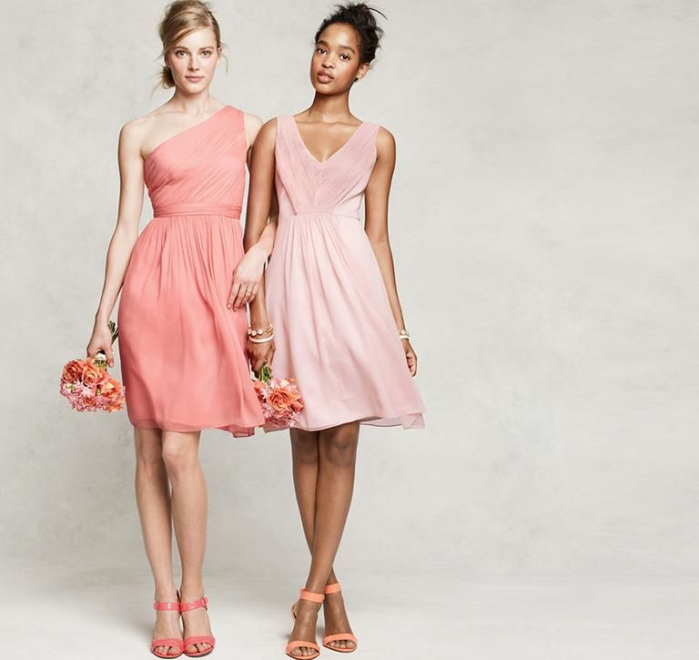 2 Bridesmaids In J Crew Kylie