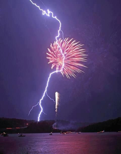 Fireworks and lightening - I imagine my stroke book cover to look a bit like this. (I explain why on my blog.)