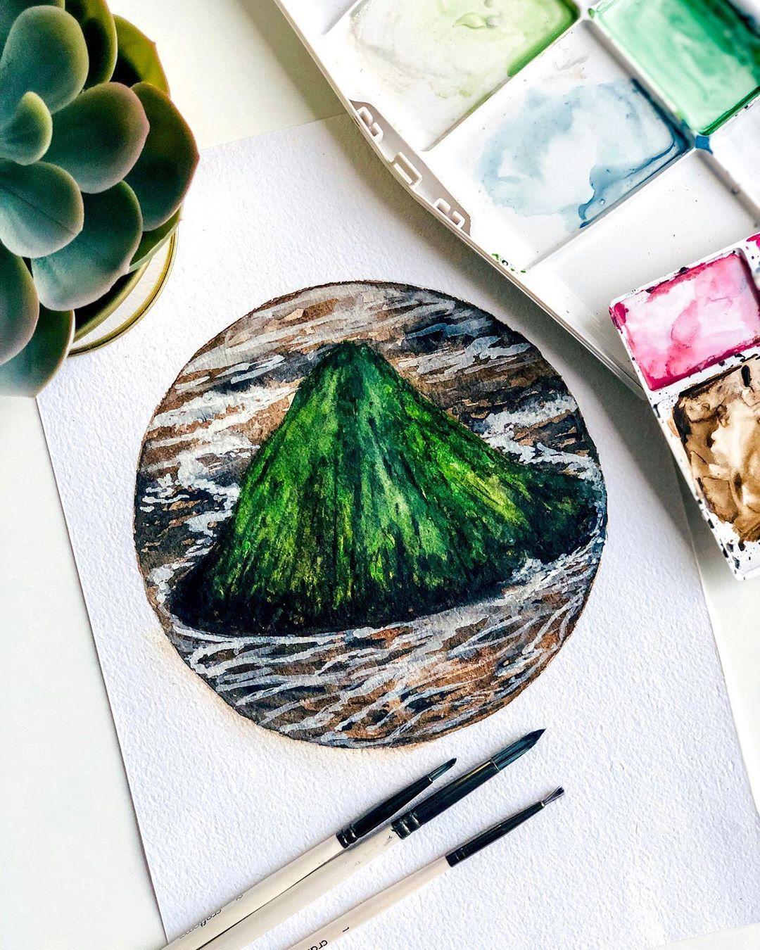 Art Artist Landscape Doodles Painting Paint Drawing Draw