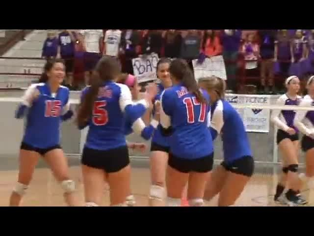 Bishop Miege Wins 22nd State Championship In 4a Video Class 4a Di State Volleyball Volleyball Class Volleyball Pictures