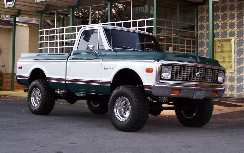 1972 Chevrolet Shortbed 10 4x4 Chevrolet trucks, Lifted
