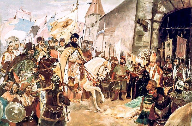 1 noiembrie 1599 – Intrarea lui Mihai Viteazu in Alba Iulia. 419 ani de  Istorie