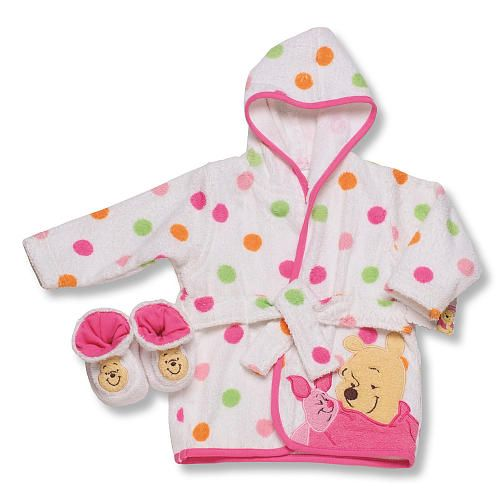 e48933ded0 Winnie The Pooh Hooded Robe With Slippers - Girl...