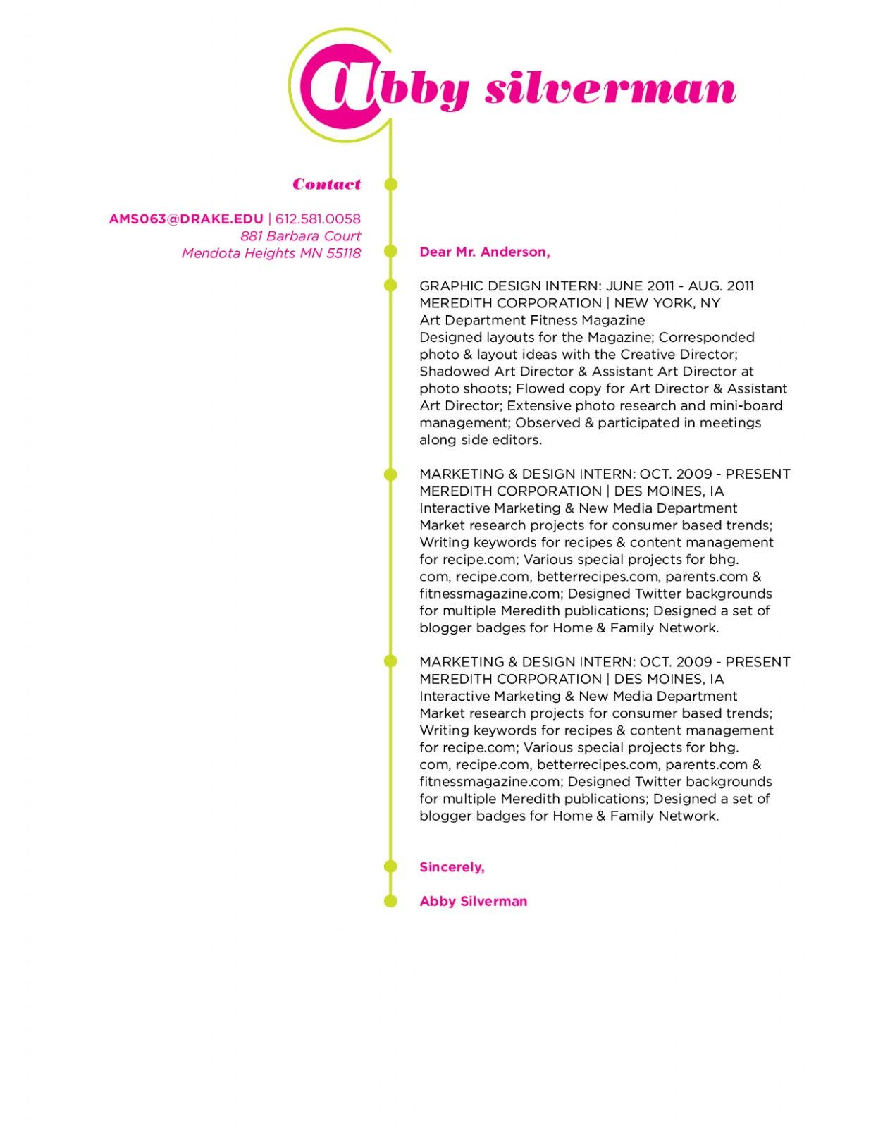 30+ Graphic Design Cover Letter | Cover Letter Designs | Pinterest ...