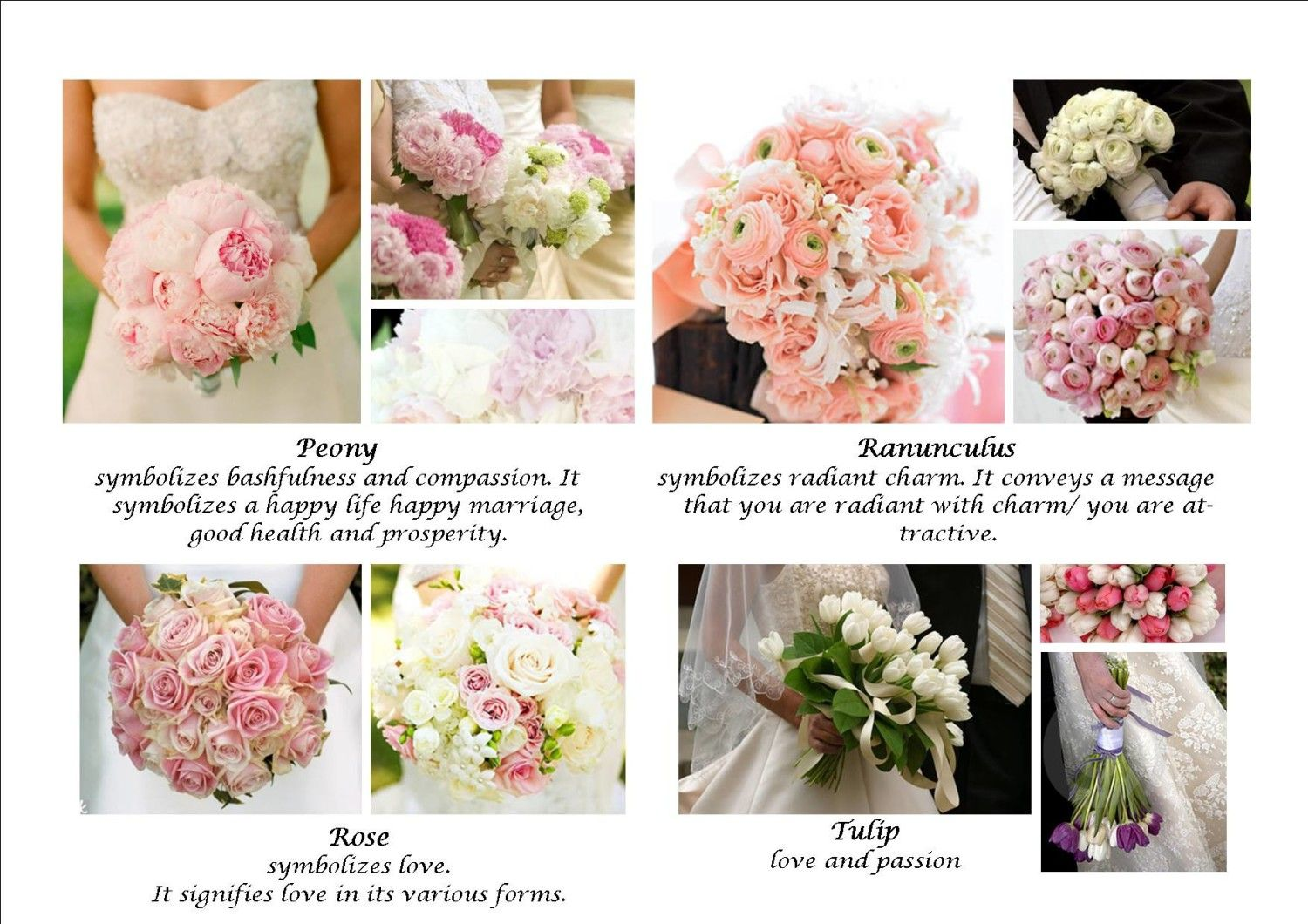 Meanings Of Wedding Flowers