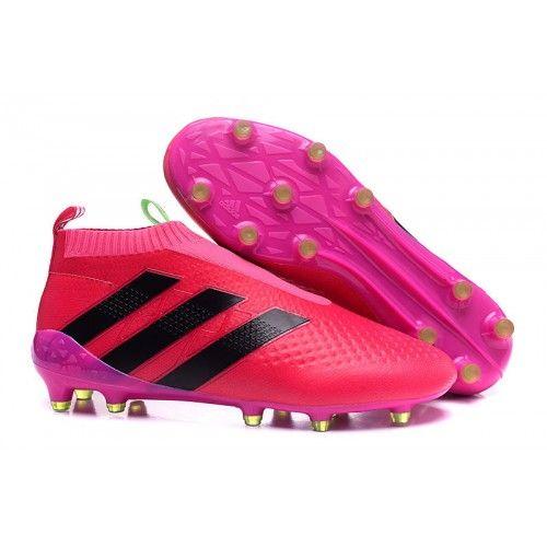 separation shoes db4ee 52f3f Chaussure De Sport En Ligne Adidas ACE 16+ PureControl Rouge Peach Noir