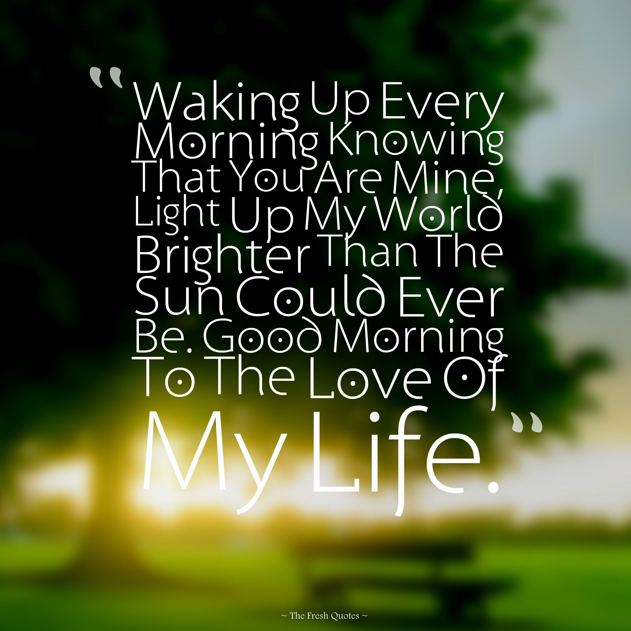 life quotes good morning quote for my life life httpsquotesayings
