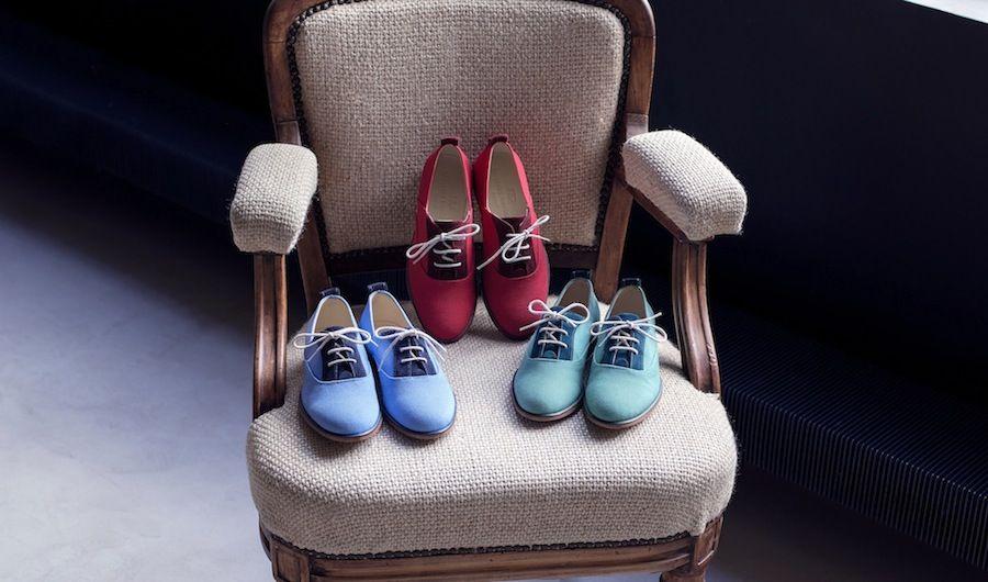 Garconne & Cherubin - chaussures modèle jazzette