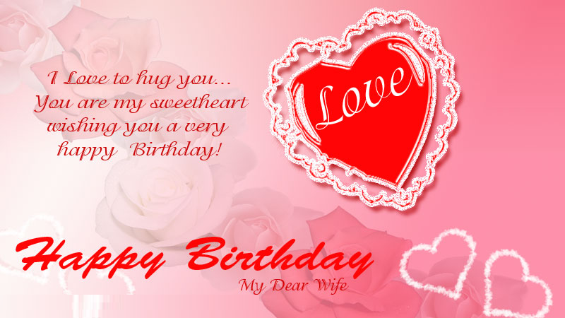 Happy Birthday cards for Wife Wife Birthday cards – Happy Birthday Card Message