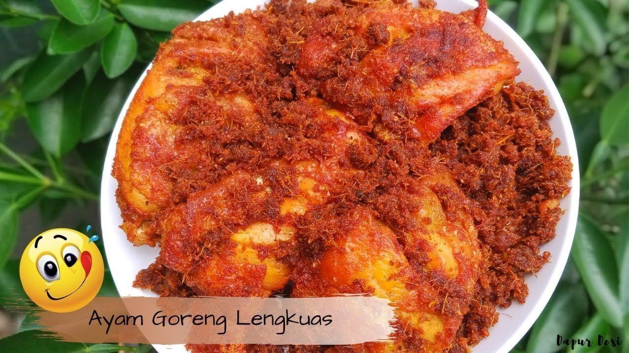 Resep Ayam Goreng Lengkuas Sederhana Dan Mudah Dibuat di